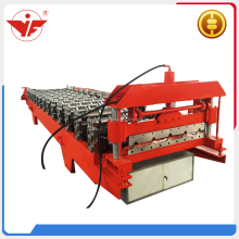 Steel sheet roof tile cnc hydraulic press machine roll forming machine