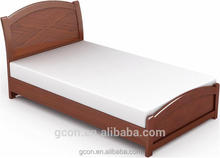 Simple solid wood bunk bed,thai massage bed wood