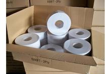 100% Virgin wood pulp tissue paper toilet roll jumbo base paper roll with the lowest price
