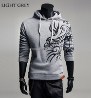 GZY 2015 new autumn stocklot men fashionable 100% cotton hoodies blank