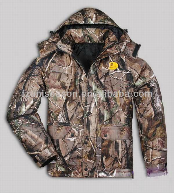 Men winter woodland hunting clothes 2013