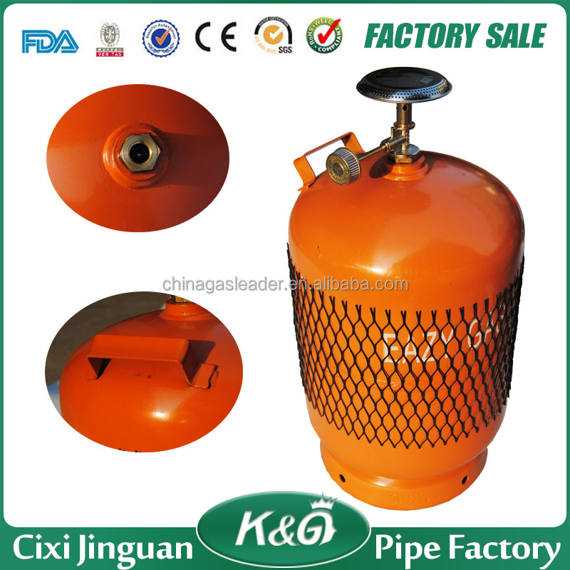 Portable 5kg lpg gas bottle, propane butane lpg gas cylinder prices, used gas cylinder