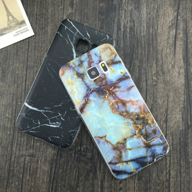 Competitive price soft hand feeling cover TPU color drawing cell phone case for samsung s7 edge