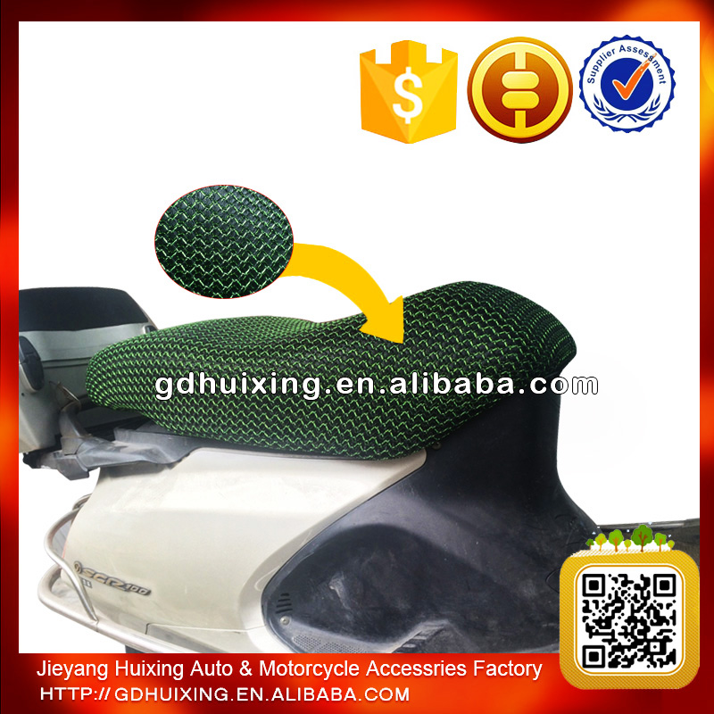 All Weather Use Motorcycle Mesh Seat Cover