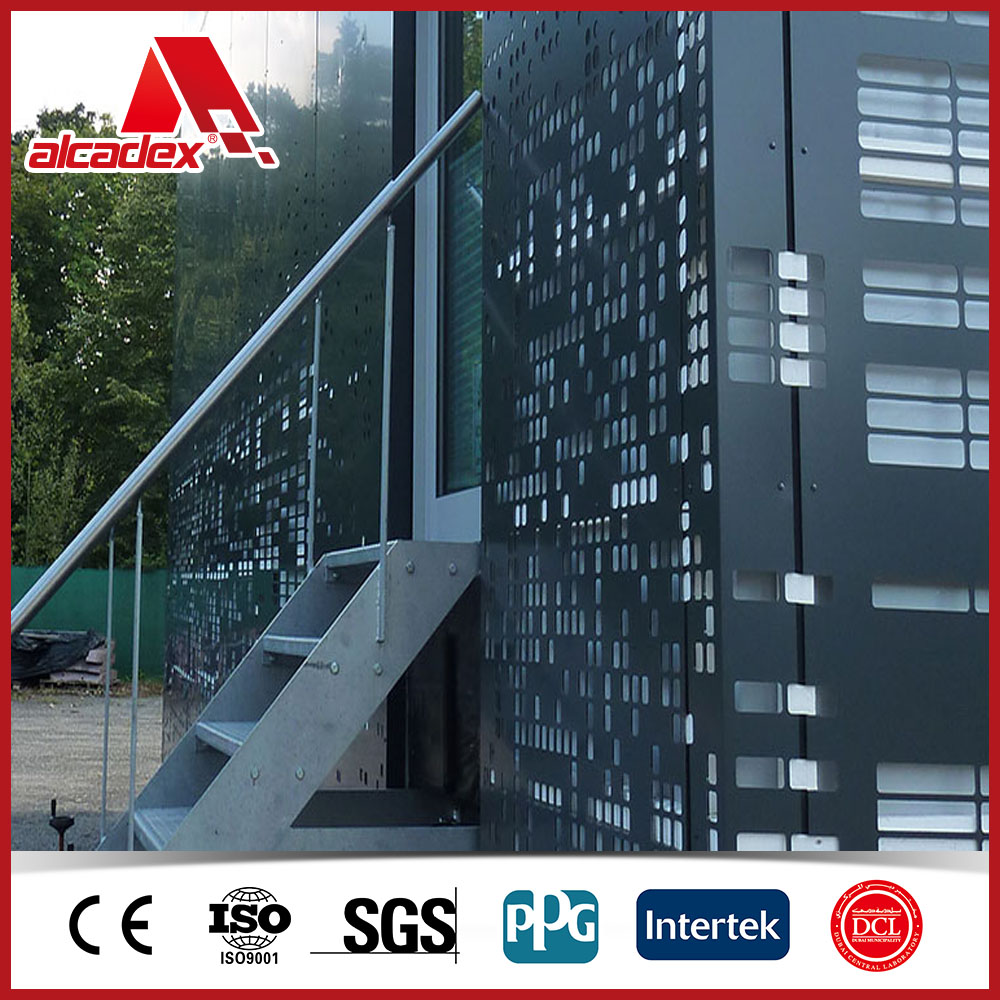 container house wall cladding material acp plastic composite panel