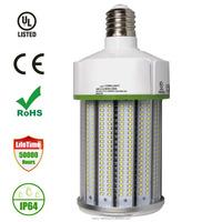 80W LED Corn Light Bulb 8600 Lumens 5000K Daylight Large Mogul E39 Base AC100-277V with CE TUV CE TUV UL GS certificate