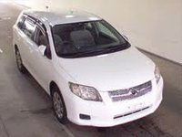 Corolla-FIELDER Model:- 2007 Color:- White