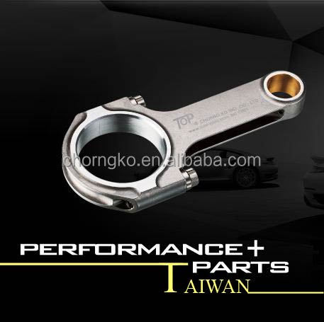 H Beam Forged 4340 Steel Auto Parts Performance Connecting Rod