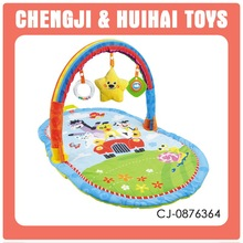 China supplier game set super soft plush toy baby nap mat