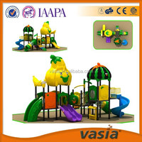 Watermelon Roof outdoor Kids' plastic Slide, outdoor playground equipment,amusement park equipment Best sale in Dubai