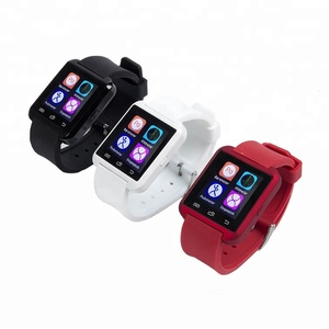 U8 1.48 Inch Touch Screen Bluetooth Smart Watch with Altitude Meter Pedometer Alarm clock