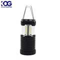 Hiking Tent Light Hiking/Caving 3 3W COB telescopic led camping lantern with magnetic base