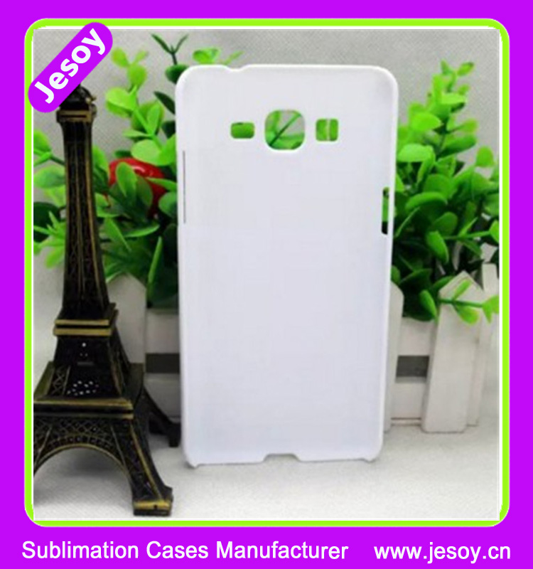 JESOY Hot New Products 3D Sublimation Blank PC Mobile Phone Back Cover Cases for Samsung Grand Prime G5306