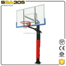 inground deluxe portable basketball stand