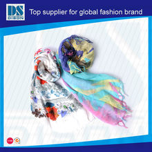Fleece wool muffler wrap knit pashmina winter scarf for lady winter