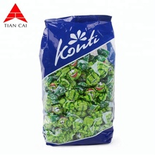 hot sale plastic candy clear packaging bag for snack food