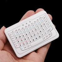 Hot Cheap Handheld Mini Bluetooth Keyboard For Samsung Note 3 S4 Iphone 5S Smart TV Android Box
