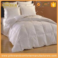 Home feather inner goose cotton soft european style bedding set