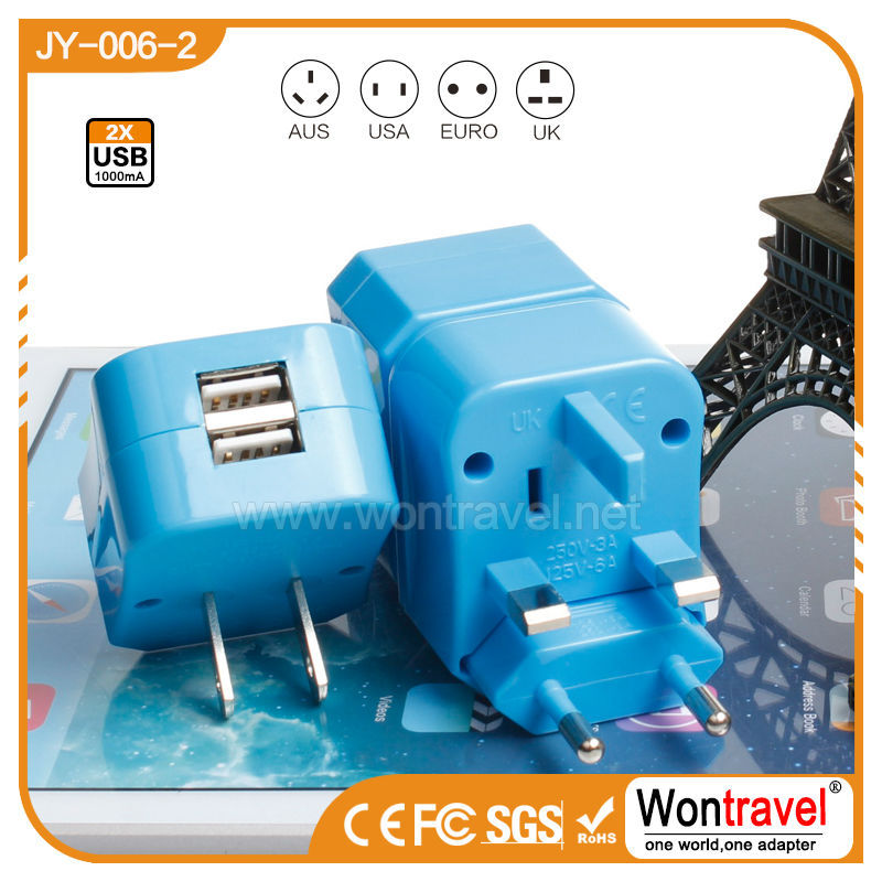 JY-006 Philippines travel plug adapter switching adaptor gift set for men