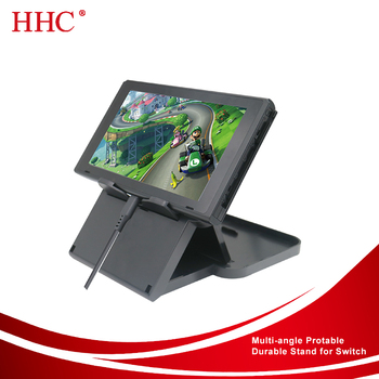 Anti-Scratch angle adjustable stand for Nintendo Switch
