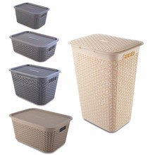 Greenside Stocked Home storage ratten plastic storage box for clothes
