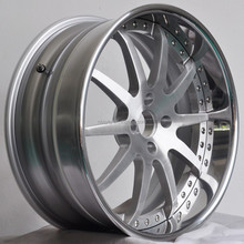Aftermarket Luxury Three Piece Forged Aluminum Wheel