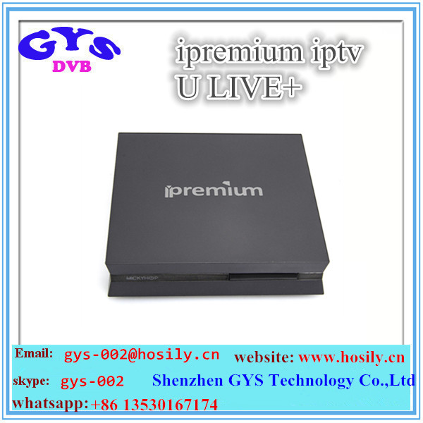 ipremium iptv ulive+ Android 4.4 quad core best arabic iptv channels 1g/8g tv box