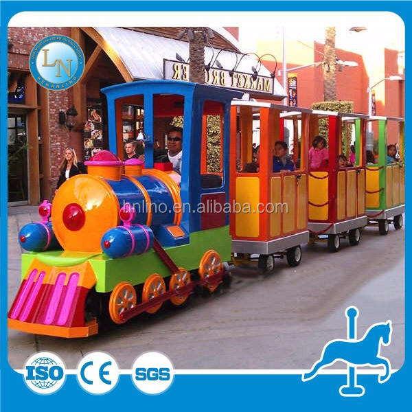 Attractions amusement park ride mini Electric Trackless toy Train for kids