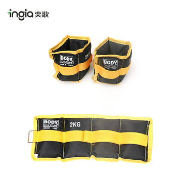 Home Weight Training Fitness Top Quality Weighted Wrist Ankle Oxford Sandbags