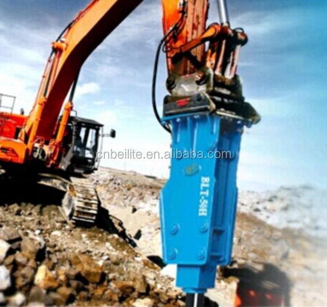 hydraulic breakers BLTB -140T rock breaker /rock hammer excavator spare parts belong to soosan series