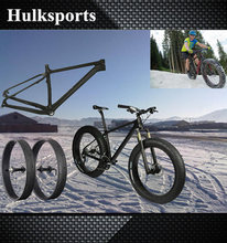 MTB Frames Chinese 26ER Carbon Fat Bicycle Frame Carbon Fat Bike Carbon Frame Telaio MTB Carbonio Chinese