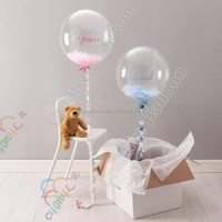 Super Clear PVC Helium Balloon Perfect