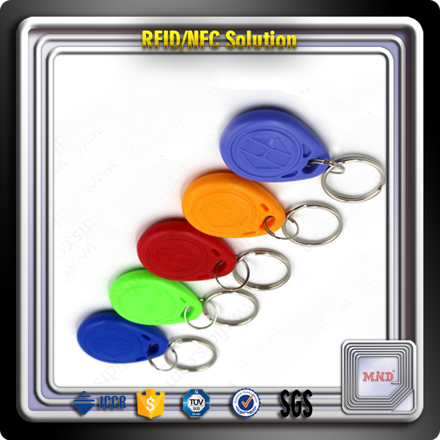 MDK0268 2014 new hot sales! RFID keychain for hotel keychain,managerment for access control