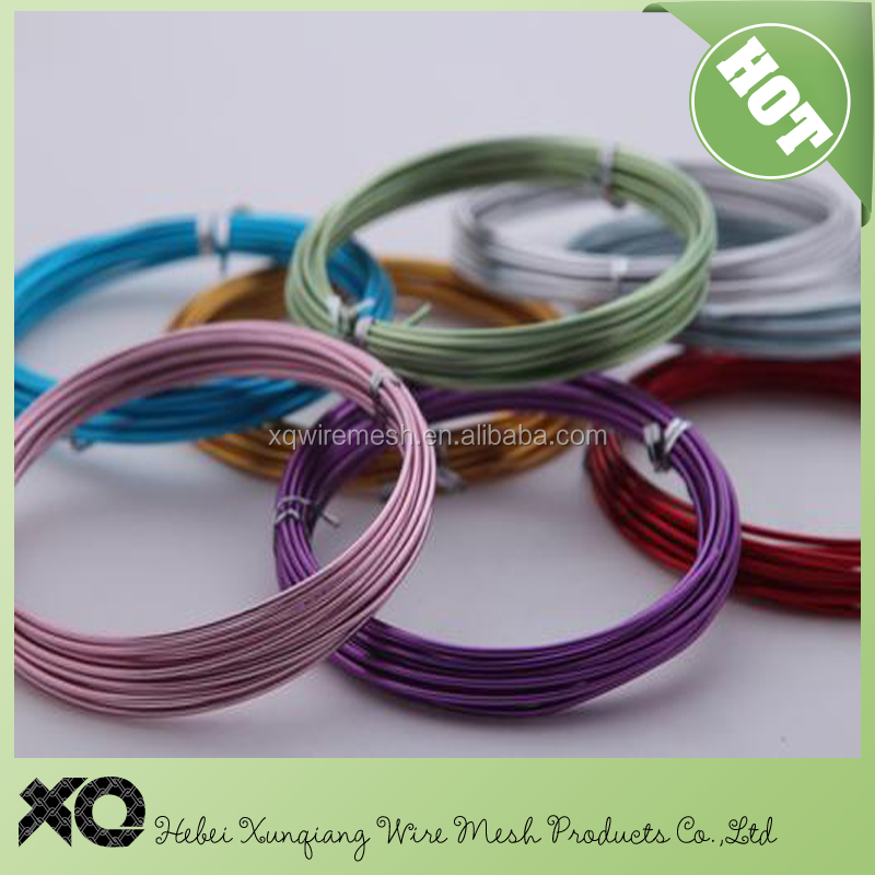 Copper Color Wholesale 1-5mm craft anodized aluminum wire