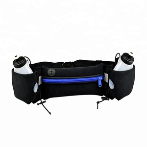 Custom Portable Cheap Black Outdoor Sport Running Waterproof Money Pouch Waist Belt Bag