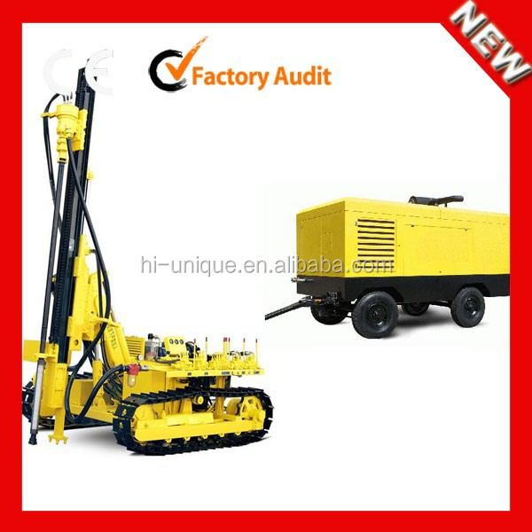 KY125 Down Hole Drill and Rotary Crawler Drilling Rig with CE