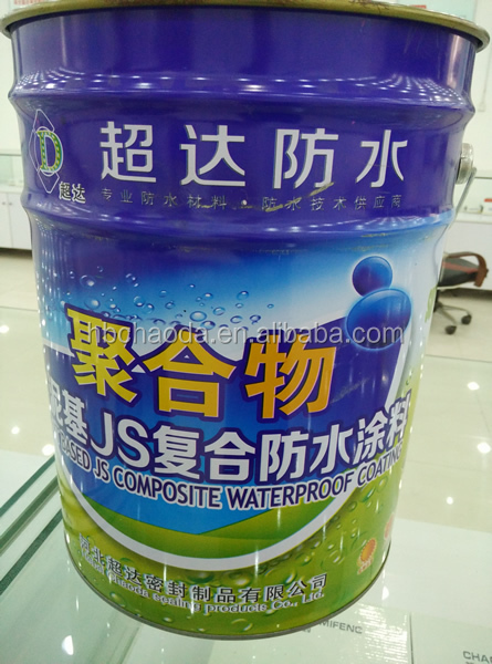 Polymer Cementitious composite waterproof coating,JS
