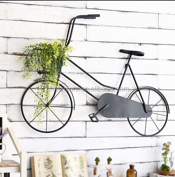 Europe creative metal Nostalgic bike home decoration by customized elegance soft adornment ornament in china