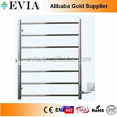 cheap stainless steel towel railing warmer design ladder style