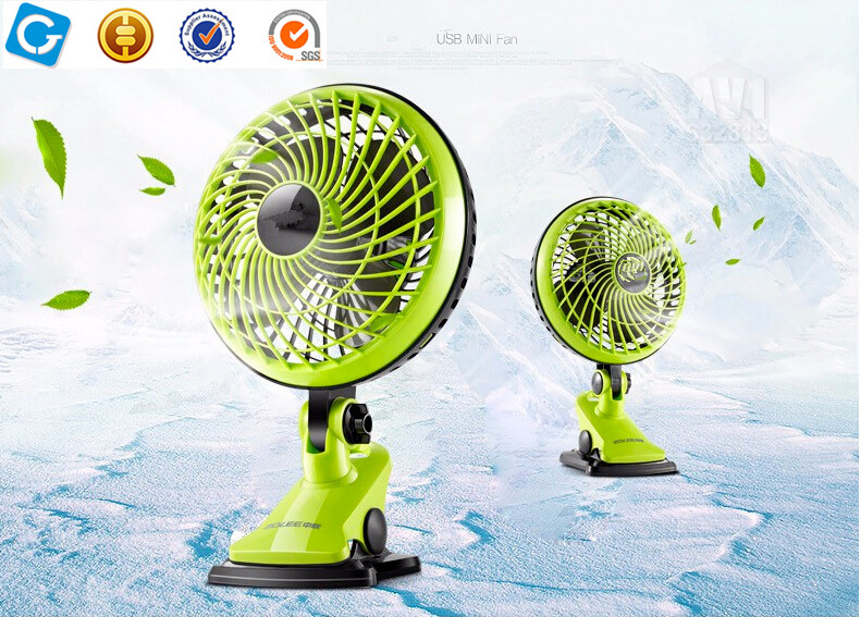 "NEW 6"" INCH SMALL DESKTOP CLIP ON PORTABLE FAN TABLE DESK AIR COOLING 2 SPEEDFAN"