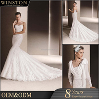 high-quality brand name ladies sexy wedding dress