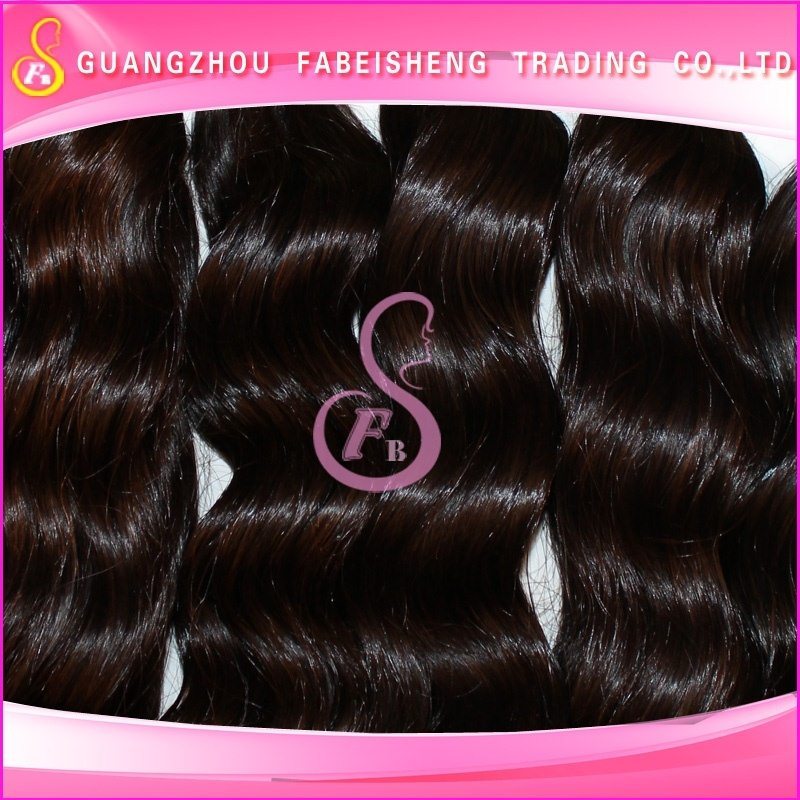 Grade 7A tangle free and shed minimal 2013new! virgin brazilian body wave hair bund