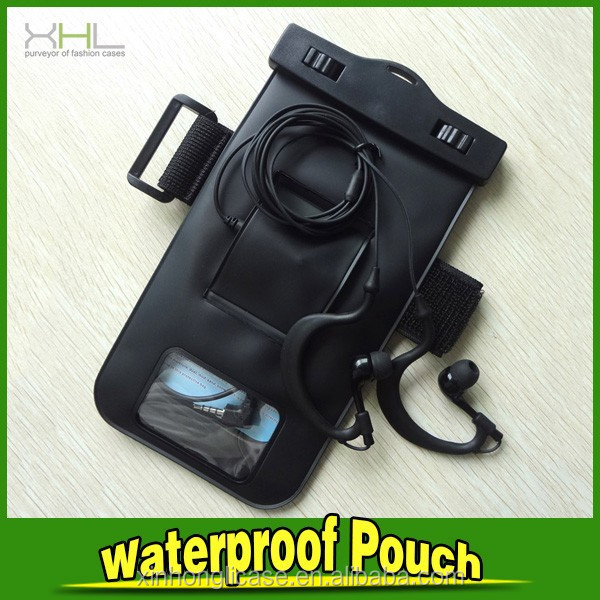 With Earphone For Iphone/samsung Waterproof Case Bag