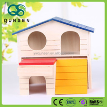 portable prefabricated wooden hamster cage for sale