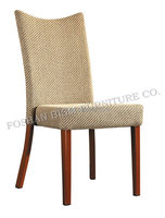 Wrapped Back Restaurant Imitated wooden Dining Chair L973