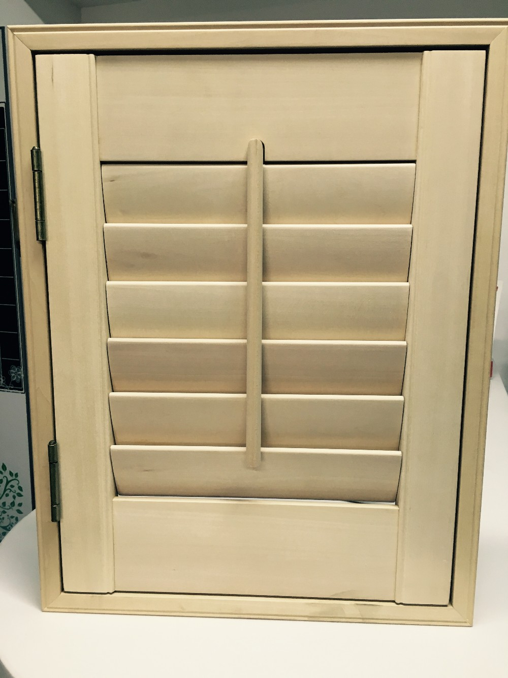 Amsterdam Style Vertical Interior Louvered Wooden Shutters Wood Plantation Shutter Buy