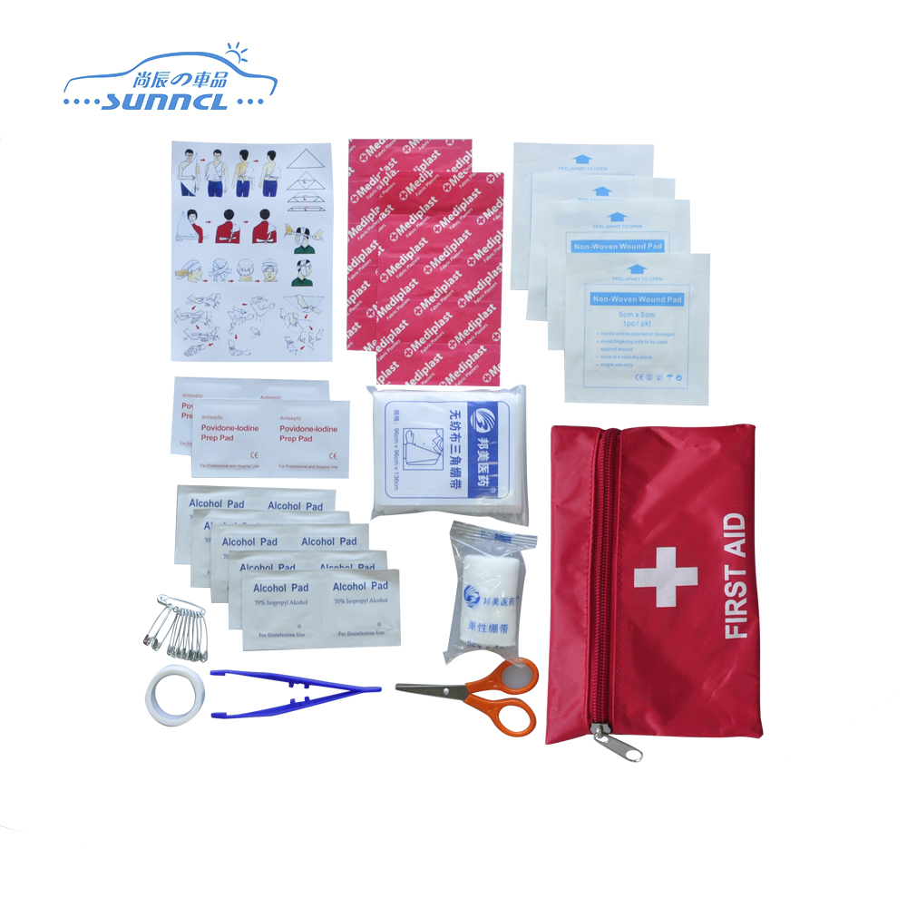 Car First Aid Kit for Car, Home, Camping, Hiking, and Survival
