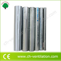 Customized Greenhouse 6 inch thin wall galvanized carbon steel pipe