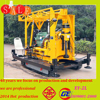 Hot arrivial the wholesale price chinese truck anchoring drill rig machine made in china with100-350m