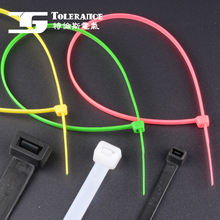 Free Sample New Design Custom Self Gripping Nylon Cable Tie 2017